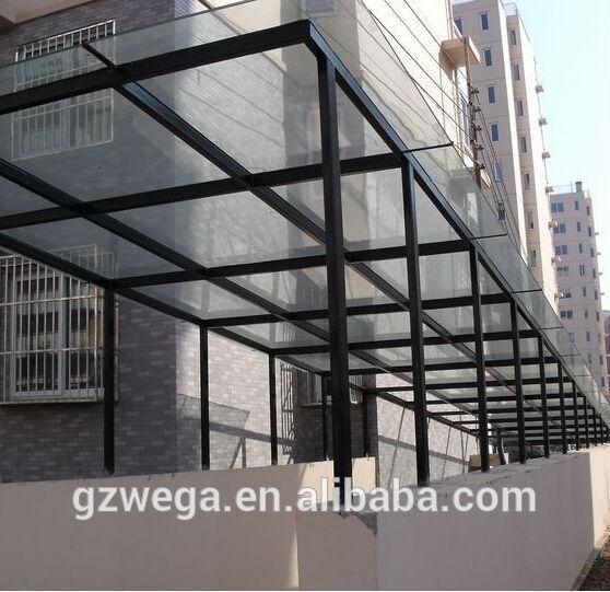Aluminium Glass Canopy Peterson 1990 CoLtd